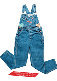 Salopette Chipie Jeans