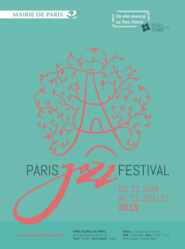 Affiche Paris Jazz Festival_2016